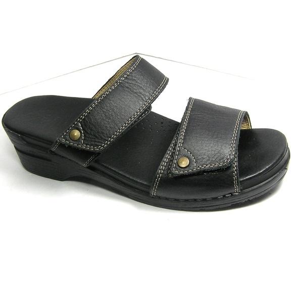 a5af422defb0e Sanita Shoes   Sandals Leather Slides Eu 41 Us 105 11   Poshmark